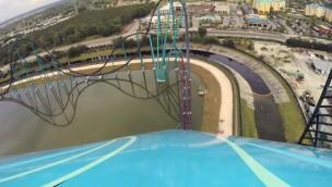 """SeaWorld Orlando zeigt neuen Hyper-Coaster """"Mako"""" im OnRide"""