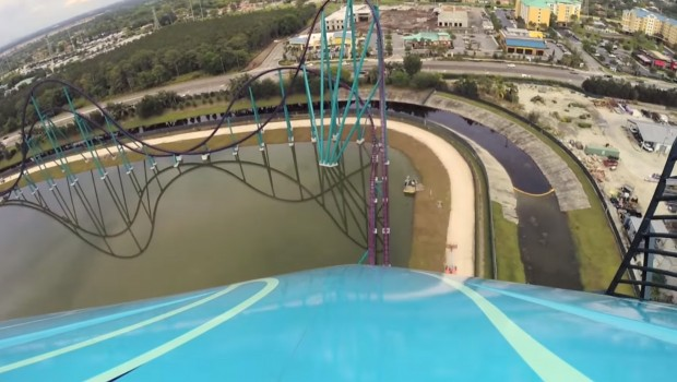 """Mako"" OnRide-Video - SeaWorld Orland Hyper-Coaster"