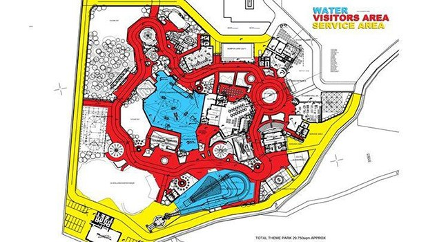 Mirnovec Park Karte