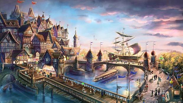 Paramount London Artwork Hafen