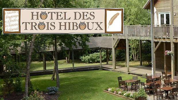 Parc Astérix Hotel de Trois Hiboux