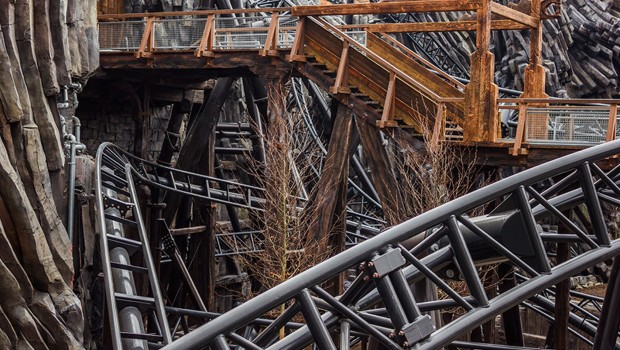 Phantasialand - RAIK - Near-Miss-Effekt