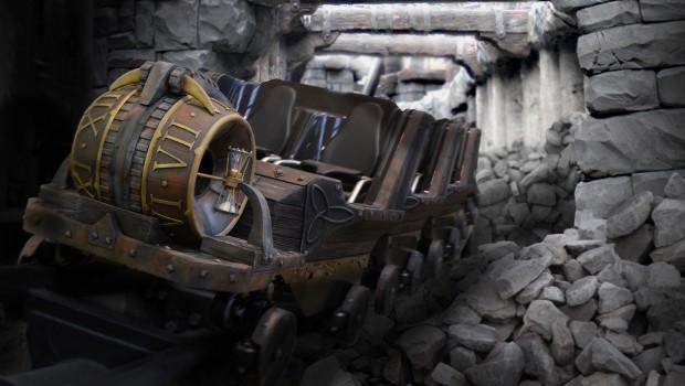 "Zug von ""RAIK"" im Phantasialand"