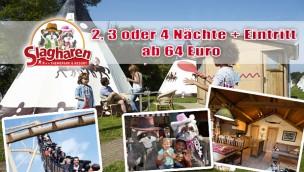 Slagharen Übernachtug Angebot 2016/04