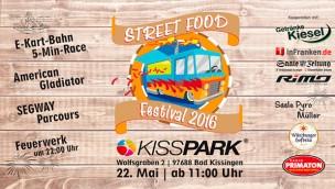 KISSPARK feiert 2016 einjähriges Bestehen mit erstem Street Food Festival in Bad Kissingen