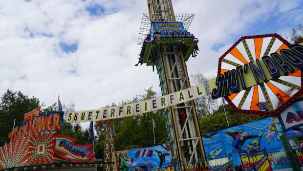 """""""T-Rex Tower"""" im Freizeit-Land Geiselwind"""