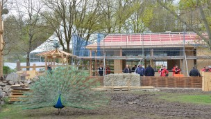 Fernöstliche Gastronomie eröffnet 2016 im Tierpark Hellabrunn