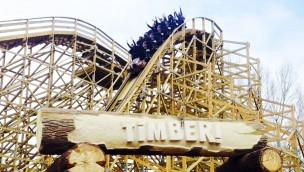 """""""Timber!"""" in Walibi Rhône-Alpes ist eröffnet: Neue Holzachterbahn in Frankreich"""