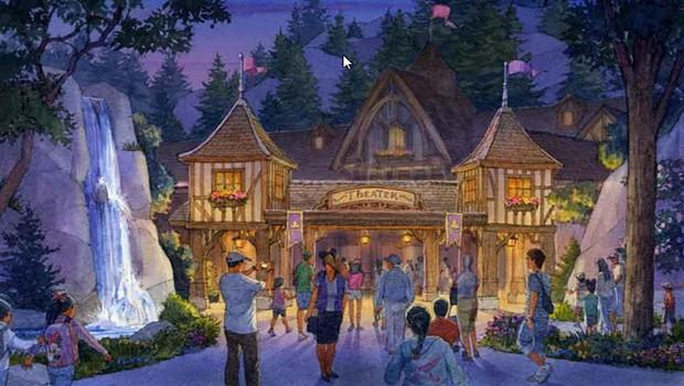 Toyko Disneyland Entertainment Theater