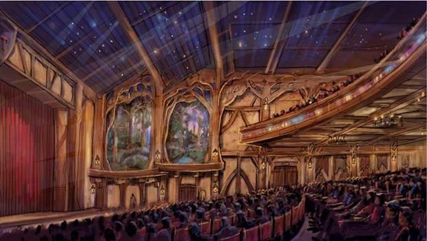 Tokyo Disneyland Entertainment Theater Innen