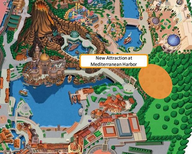 Tokyo DisneySea Planung