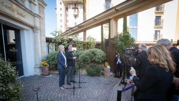 Union / SPD Treffen im Europa-Park Hotel St. Isabel 2016