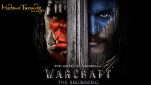 Warcraft in der Hauptstadt: Madame Tussauds Berlin verewigt Figuren aus Warcraft: THE BEGINNING in Wachs