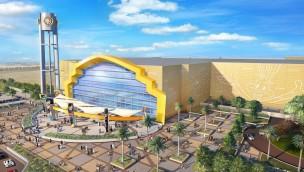 So wird die Warner Bros. World in Abu Dhabi aussehen: Artworks geben Einblick in neuen Warner Bros.-Themenpark