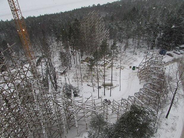 Wildfire Kolmården Bau
