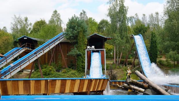 Wildwasserbahn im Bayern-Park