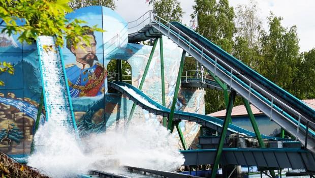 """""""König Ludwigs Wildwasserbahn"""" im Freizeit-Land Geiselwind"""