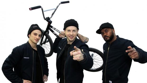 BreakMX - Killa Sebi, Chris Böhm und BBoy Jamel
