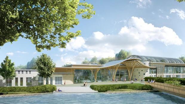Center Parks Allgäu - Market-Dome Konzeptgrafik