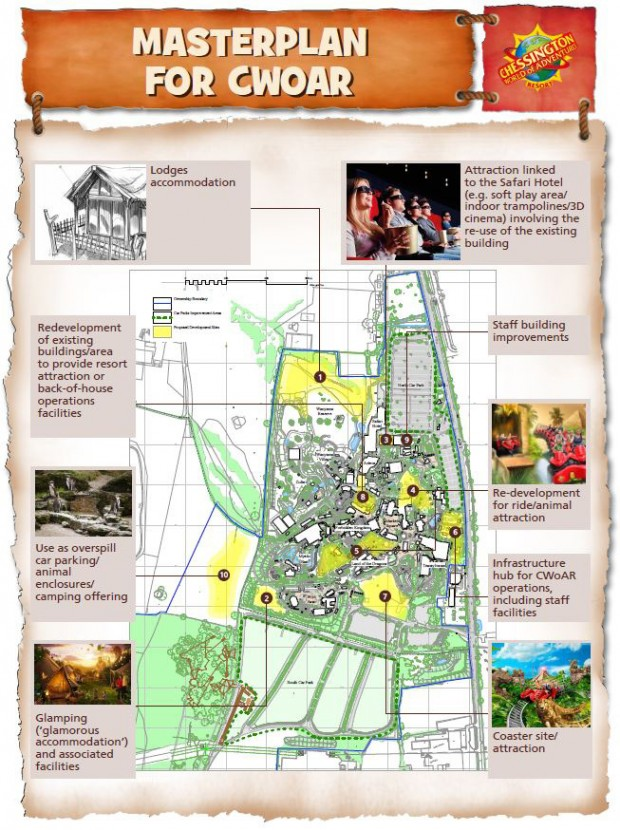 Chessington World of Adventures Masterplan