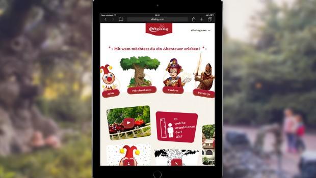 Efteling Digitale Märchenwelt - Online-Plattform für Kinder