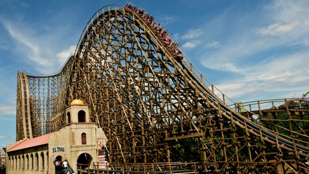 El Toro in Six Flags Great Adventure