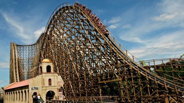 El Toro in Six Flags Great Adventure