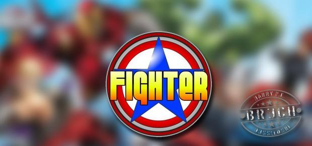 """Fighter""-Logo (Bruch)"