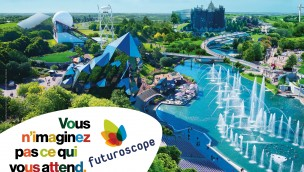 Futuroscope knackt 50 Millionen Besucher seit seiner Eröffnung