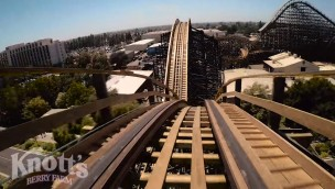 GhostRider OnRide - Knott's Berry Farm