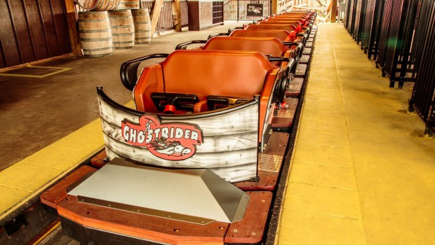 """Ghostrider"" in Knott's Berry Farm - Zug"
