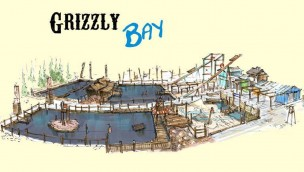 Grizzly Bay - Jaderpark - Konzeptgrafik