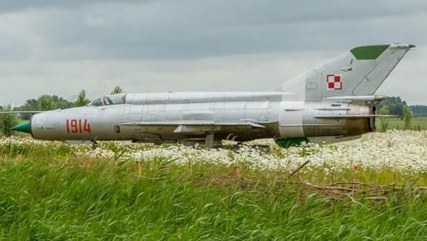Auch Kampfflugzeuge gehören zu den Exponaten. (Foto: Historyland)