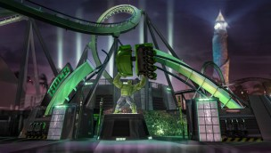 "Hulk erobert Universal's Islands of Adventure zurück: ""Incredible Hulk""-Achterbahn im Soft-Opening fahrbar"
