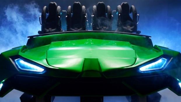 Incredible Hulk Coaster Waggon