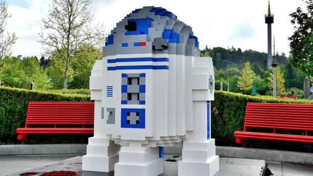 LEGO R2-D2 im LEGOLAND Deutschland