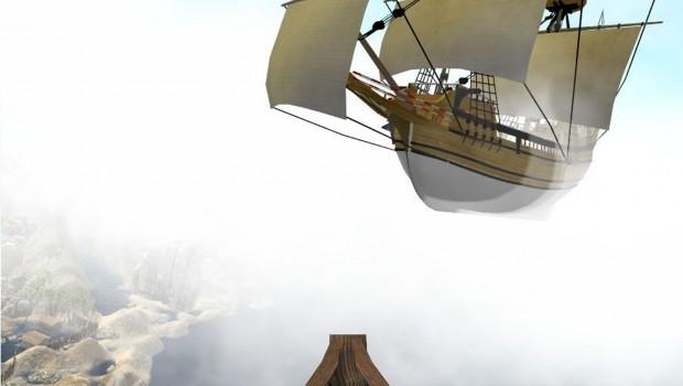 Olandese Volante VR-Coaster Artwork - Rainbow Magicland