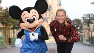 Paula Radcliffe - Disneyland Paris Halbmarathon 2016
