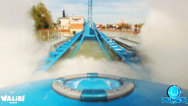 """Pulsar"" OnRide - Mack Power Splash Walibii Belgium"