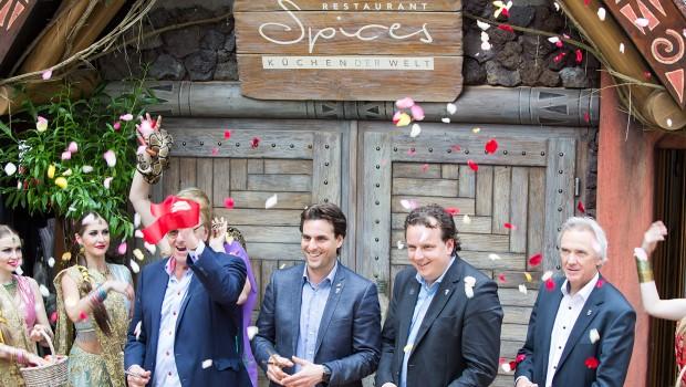 Restaurant Spices Eröffnung im Europa-Park 2016