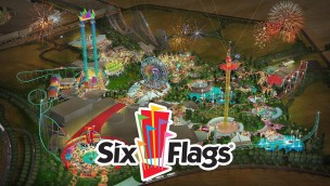 Six Flags Dubai - Artwork