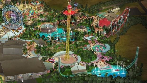 Six Flags Dubai - Artowork - Freespin und Power Splash