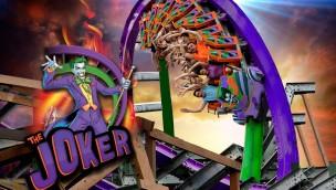 "Neu 2016 im Six Flags Discovery Kingdom: Hybrid-Coaster ""The Joker"" jetzt eröffnet"