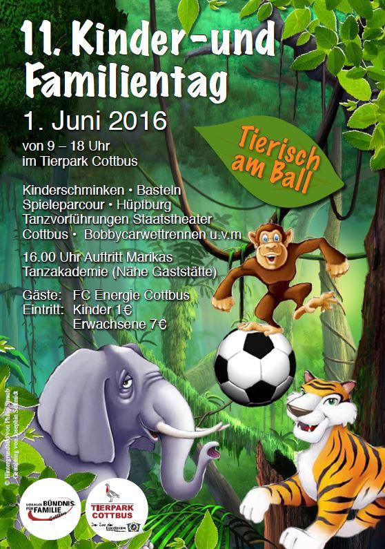 Tierpark Cottbus - Kindertag 2016