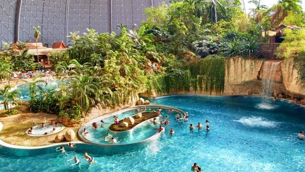 Tropical Islands - Wasserfälle