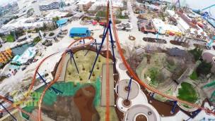 """""""Valravn"""" im OnRide erleben: Höchster Dive-Coaster der Welt in Cedar Point im Mitfahr-Video"""