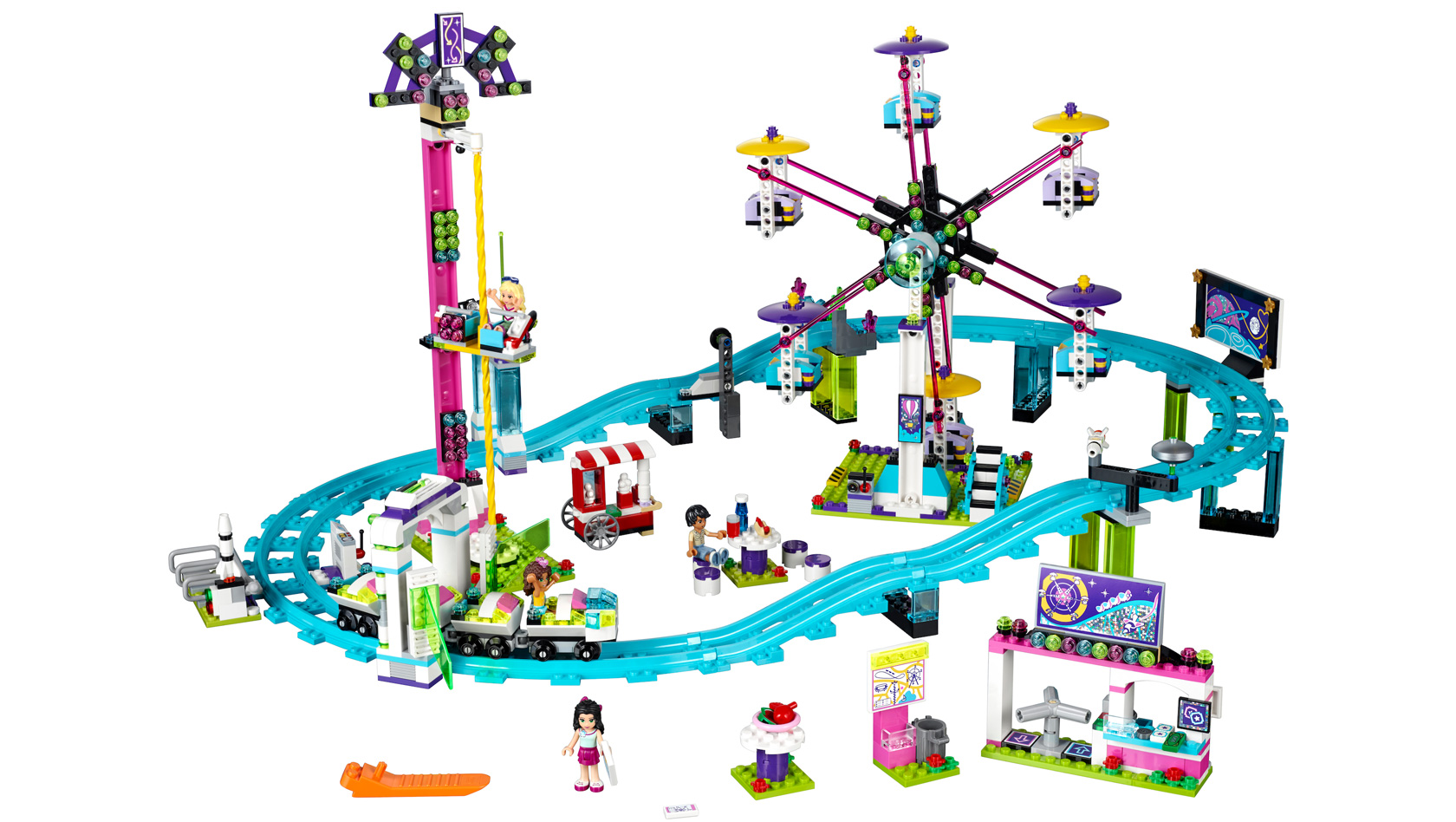 eigener freizeitpark aus lego neue lego friends sets erh ltlich. Black Bedroom Furniture Sets. Home Design Ideas