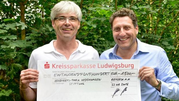 Adlung Spiele Serengeti-Park-Stiftung Spende