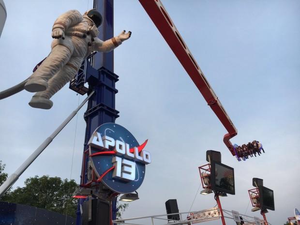 """Apollo 13"" auf der Kirmes in Oberhausen"