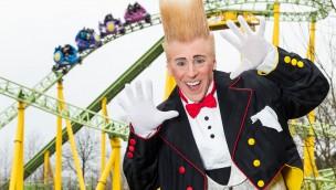 Toverland präsentiert Stunt-Show mit Bello Nock im Sommer 2016